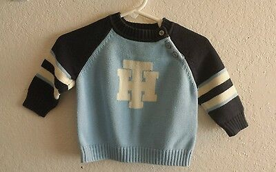 Tommy hilfiger baby boy sweater size 3/6 months