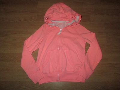 NEXT girls peach hoodie/hoody/hooded tracksuit top/jacket age 9 years clothes