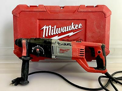 """Milwaukee 5262-20 7 Amp 7/8"""" SDS Plus Rotary Hammer w/ Handle in Case"""