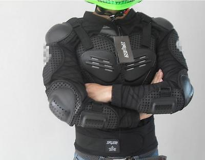 Motorcycle Full Body Armor Jacket Spine Chest Protection Gear S M L XL 2XL 3XL T