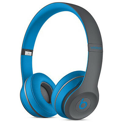 Flash Blue- ACTIVE-Beats by dre-Solo 2,WIRELESS HEADPHONES-SEALED