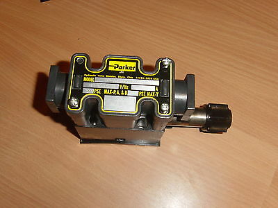 Parker D1Vw20Hvycf 75 Hydraulic Solenoid Valve Nnb 5000Psi