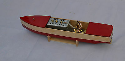 LIVE STEAM VINTAGE STYLE POND BOAT bowman radio control