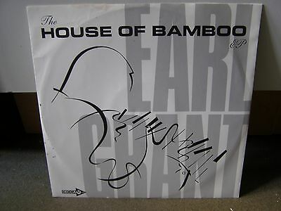 """EARL GRANT The House Of Bamboo EP 12"""" Record (Rare Vinyl/Jimmy Smith)"""