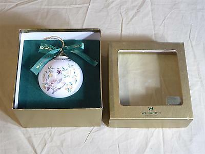 WEDGWOOD Christmas Tree Ornament - 1st Day, Partridge Pear Tree - Perfect In Box