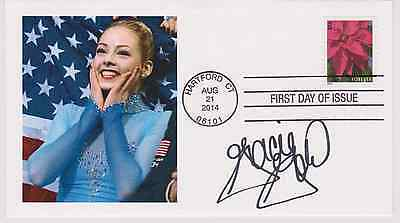 Signed Gracie Gold Fdc Autographed First Day Cover