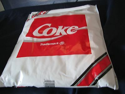"Coca Cola Insulated Bag 12"" wide 14"" long Made USA new"