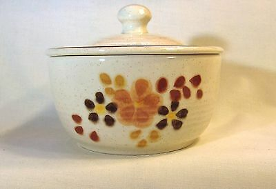 TOFFEE by Franciscan SUGAR BOWL with LID