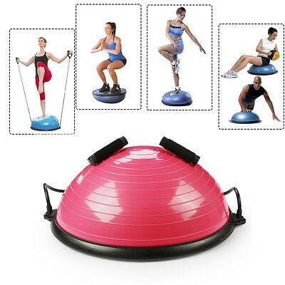 Yoga Ball Balance Gym Trainer Yoga Fitness Strength Exercise Workout Training-UK