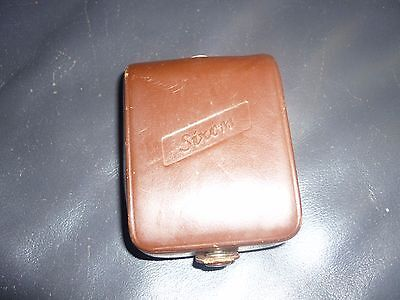 Vintage Sixon Light Exposure meter with leather case
