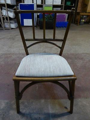 Set of four W. Lusty & Sons Bentwood Dining chairs