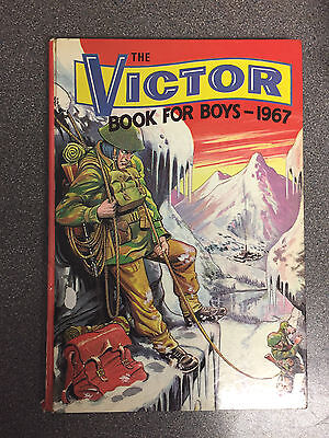 """The Victor Book for Boys 1967"" Comic Annual from nearly 50 years ago"