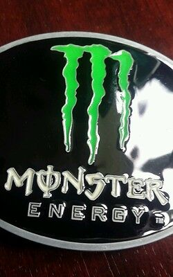 SPEEDWAY Monster Energy Belt Buckle With The Green M Logo (bought at SWC Poland)