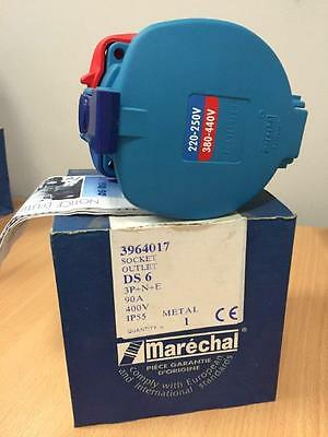 Marechal DS 6 Socket Outlet Part 3964017 New 12 Units Available Priced Each
