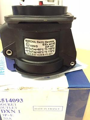 Marechal Dxn1 Socket Outlet Part 2514093 New 12 Units Available Priced Each