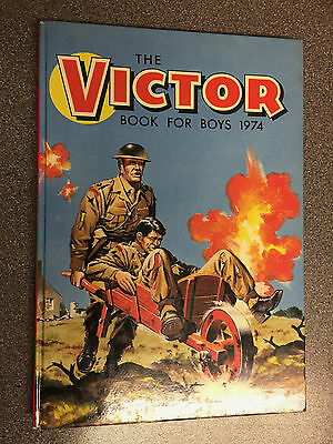 THE VICTOR BOOK FOR BOYS ANNUAL 1974 Excellent Condition Annual over 40 yrs old