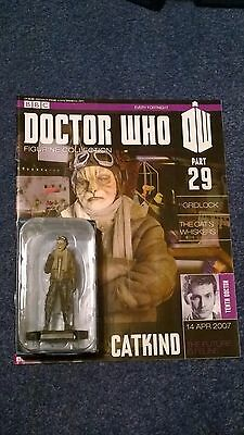 Eaglemoss doctor who figurine collection - Issue 29: CATKIND