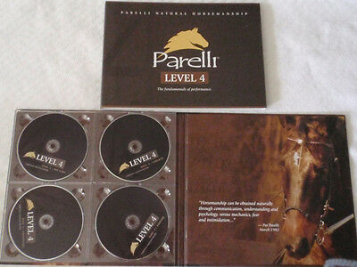 Parelli Pathways - LEVEL 4 - THE NATURAL HORSE TRAINING - MSRP - $199  EXCELLENT