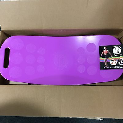 Simply Fit Board MAGENTA - The Abs Legs Core Workout Balance Board with A Twist