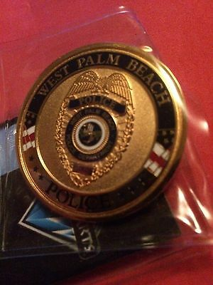 West Palm Beach Florida Police Challenge Coin Tribute