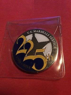 US Marshal 225th Anniversary Police Challenge Coin