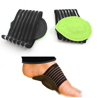 Foot Arch Support Plantar Cushion Shock Absorber Arches Heel Pain Relief  Pad X2