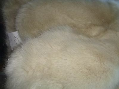 Pottery Barn sunbear faux Fur Pillow cover  18   fawn  New with tags