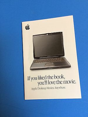 A small Apple PowerBook booklet-