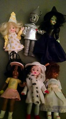Madame Alexander Lot of 6 Dolls Sleep Eyes and Wizard of Oz