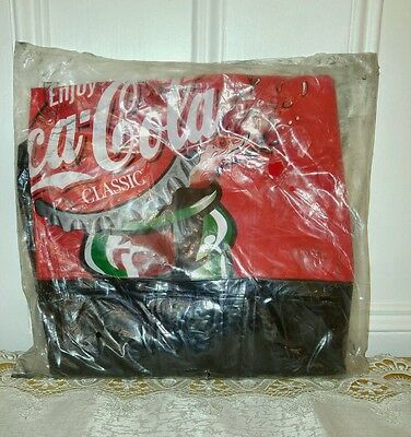 Large Coca Cola Inflatable Bottle Collectable New in Bag Coke Soda