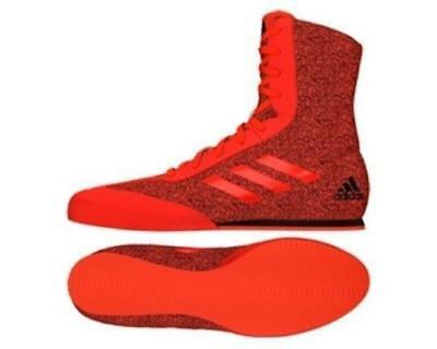 Adidas Boxing Box Hog Plus Boots Shoes 7-14uk  Adults Red/Black
