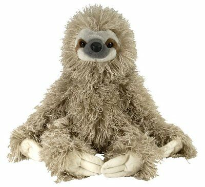 Plush Toy Cuddlekins Sloth 30cm Tall Handcrafted Natural Looking Soft and Cuddly