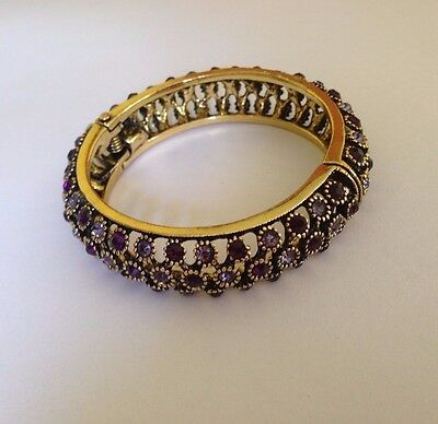 Bracelet Gold Plated Traditional Wedding Bangle Vintage Jewelry Women Ancient
