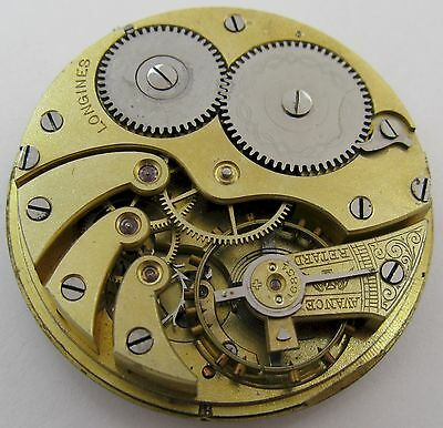 Longines 15 jewels Pocket Watch movement for parts HC