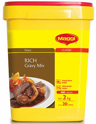 2Kg Maggi Rich Gravy Mix - Long Best Before Date 2018 - Fast Shipping