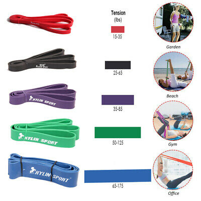 4er-Set Fitnessbänder Gymnastikband Widerstandsband Resistance Training Band