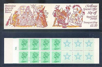 FX6   Christmas Booklets   1983 £2.20 Book cyl B36