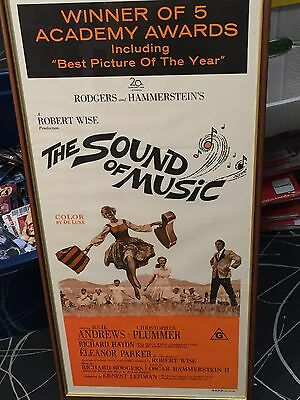 The Sound Of Music Original Australian Film Litho Poster