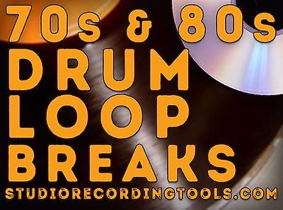 60S & 70S Breakbeat Drum Loop Hip Hop Funk Break Wav SOUL SOUND