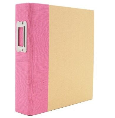 SN@P Studio Binder Pink 6x8 Inch Album 22 tlg von Simple Stories