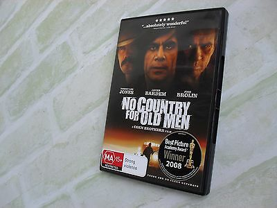 No Country For Old Men - Region 4 Pal Dvd