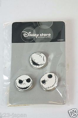 Disney Store JAPAN Pin The Nightmare before Christmas Jack 3 Face