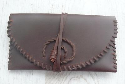 Estuche para tabaco de liar,Crafted Leather Rolling Tobacco Pouch