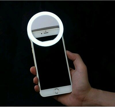 Selfie LED Camera Photography Ring Supplementary Light for iPhone Android Phone
