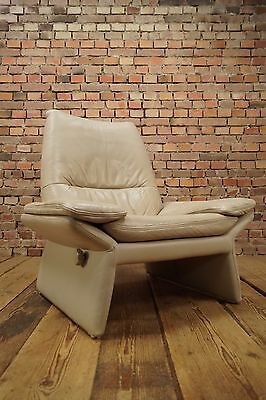 80er HANS KAUFELD LEDER RELAX SESSEL LOUNGE LEATHER CLUB CHAIR VINTAGE 70s