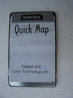 SMI Quick Map Card Version 2.5 For The HP 48GX/SX Calculator