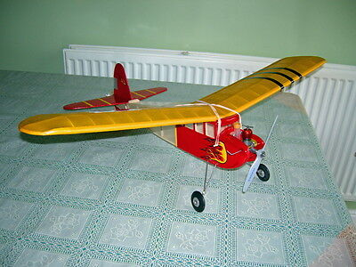 Vintage  Model Aircraft Junior 30 Kit For Radio Control + Glow -Diesel Engines