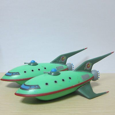 2PCS Futurama Planet Express Ship LootCrate Exclusive QMX Mini Masters Rare