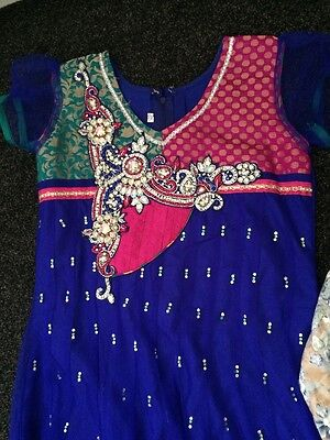 Girls Asian Outfit Size 34 Age 9-10 Years