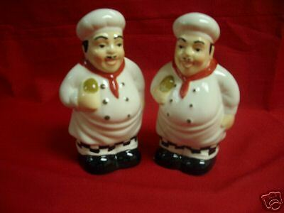 HAPPY CHEFS Salt & Pepper  ~  CLOSEOUT